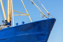 Bow Shrimp Fishing Ship In Dut...