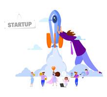 Startup Concept. Search For Ne...