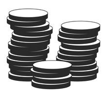 Illustration Of Coins In Retai...
