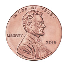 2018 American One Cent Coin, P...