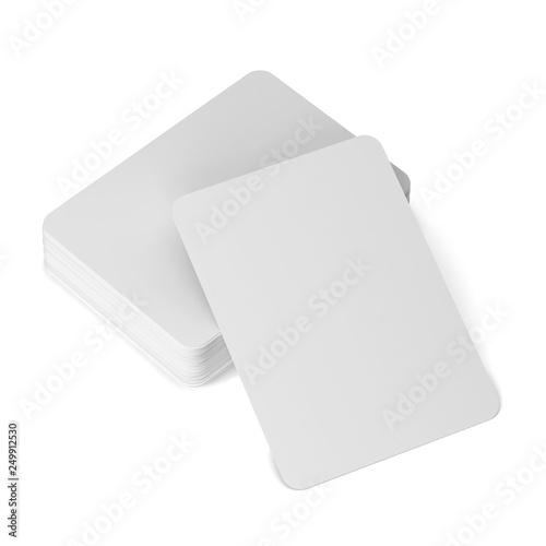 Valokuva  Playing cards mockup