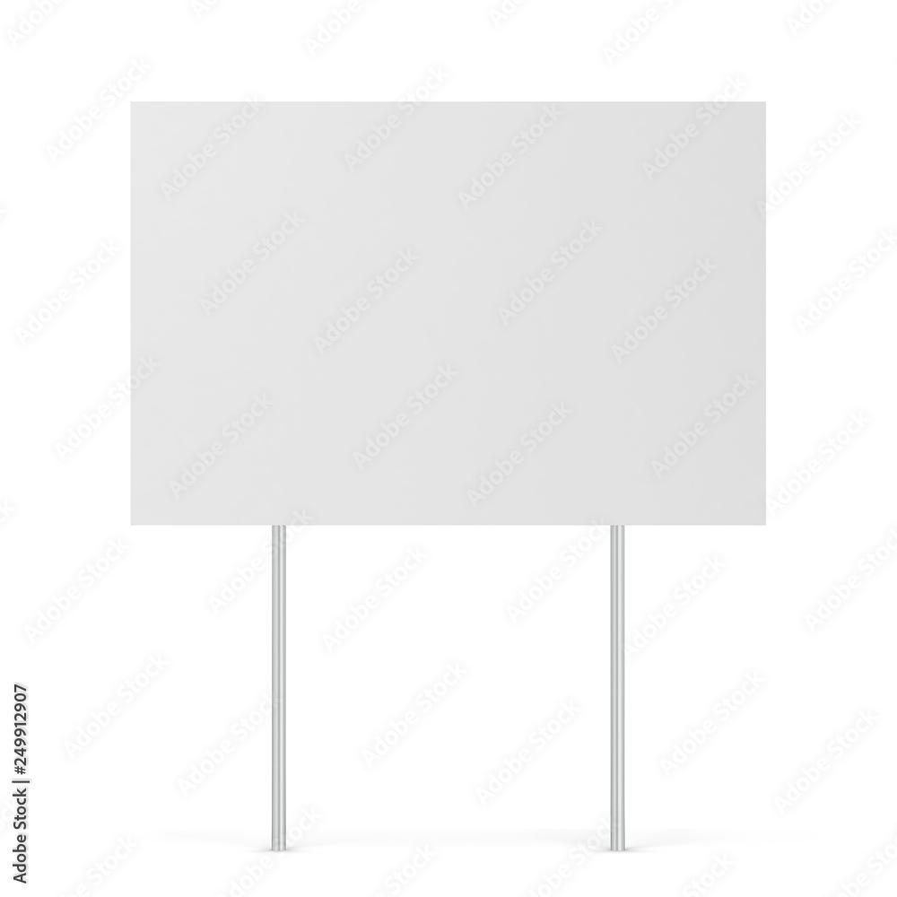 Fototapety, obrazy: Blank yard sign