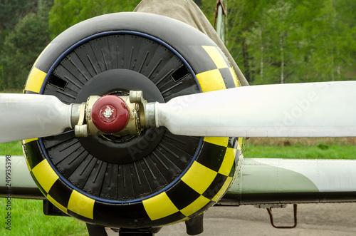 Foto op Aluminium Arctica old aircraft close up