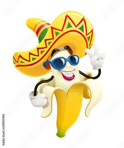 Fotografie, Obraz  Ripe banana