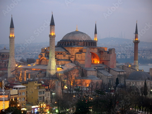 Canvas Prints Turkey hagia sophia in istanbul turkey