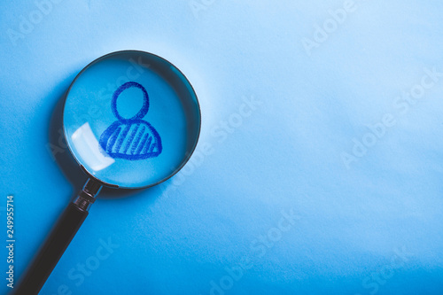 Fotografia  Concept of search for worker