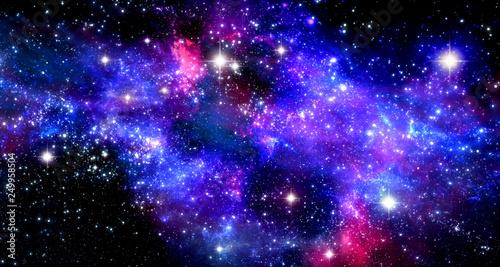 Space nebula - 249958504