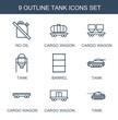 9 tank icons