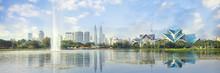 Kuala Lumpur, Malaysia Panoram...
