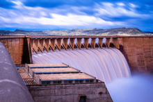 A Wonderful View Of The Dam In Full Flow After The Rains