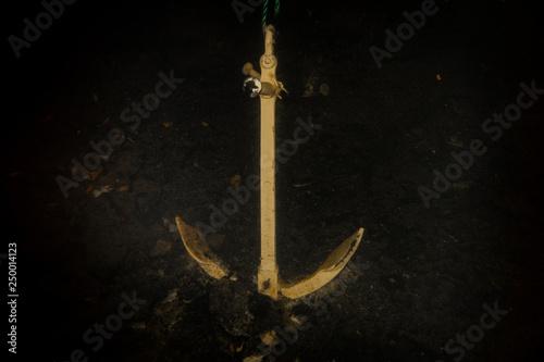 Fotografia Sunken anchor