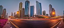 Dubai Skyline During Sunrise W...