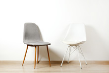 Empy Loft Style Chair Over Bla...