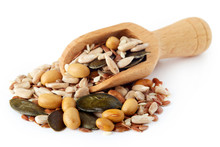 Mix Of Various Healthy Seeds I...