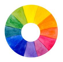 Itten Color Wheel Watercolor