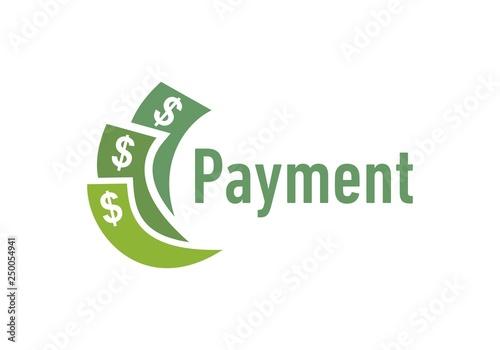 Valokuva  Money dollar, payment logo vector