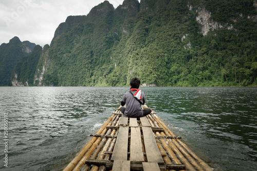 Cadres-photo bureau Lavende Raft to nature