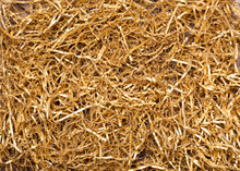 Olden Shredded Paper For Gifting, Shipping And Stuffing. Top View.