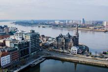 City Skyline Landscape Panorama Shot
