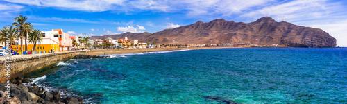 Fuerteventura holidays - scenic coastal town Gran Tarajal. Canary islands