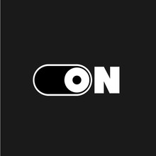 On And Power Logo Vector
