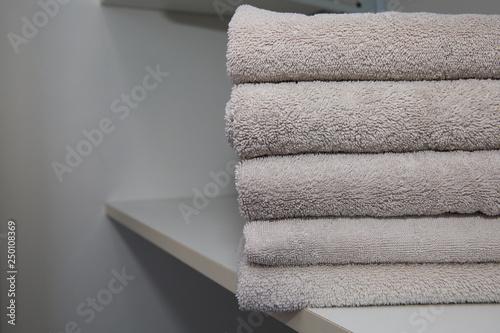 Fotografie, Obraz  Stacked towels