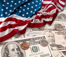 USA Finance Flag