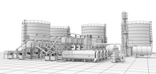 Oil Refinery, Chemical Product...
