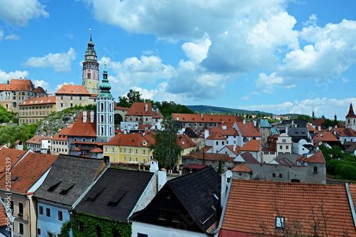 Fotografie, Obraz  Czech Republic-view of the city Czech Krumlov