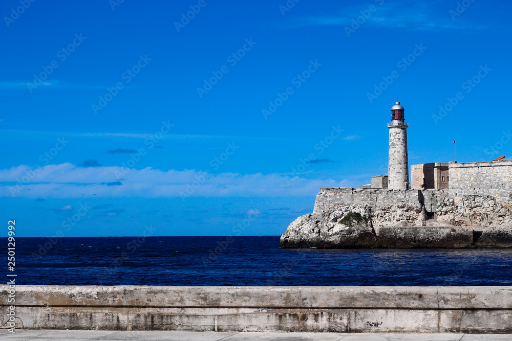 Fotografie, Tablou  Cuban Lighthouse