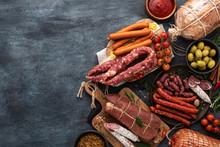 Assortment Of Sausage And Ham ...