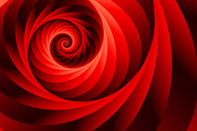 Spiral Fractal Background