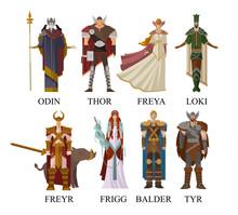 Norse Nordic Mythology Gods