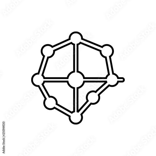 Fotografía  scope sign icon
