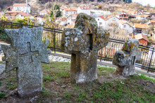 Ancient Stone Crosses At The C...