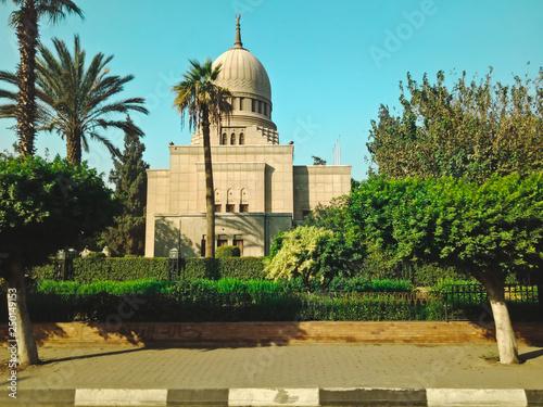 Foto  Historic building in Hugharda city, Egypt