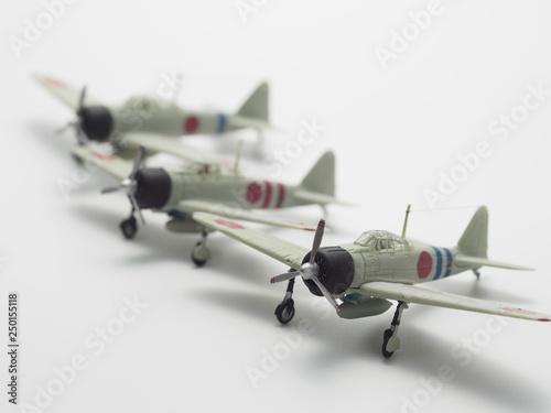 Fotografie, Obraz  ww2  japanese plane