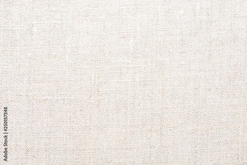 Fototapeta Texture of natural linen fabric