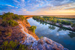 canvas print picture - Murray River Colours