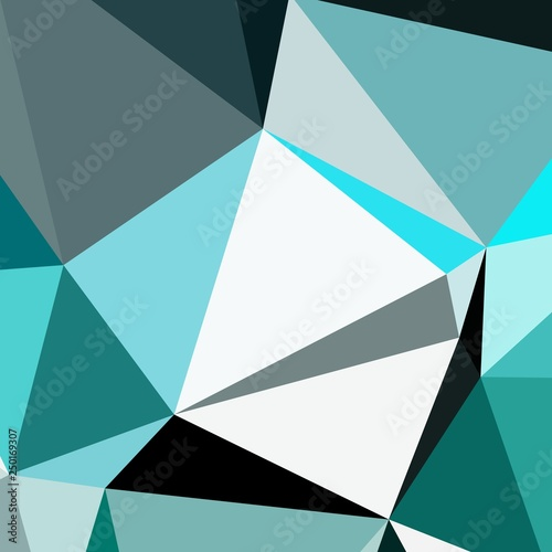Fotografija  Abstract background multicolored geometric poligonal