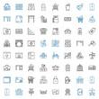 empty icons set