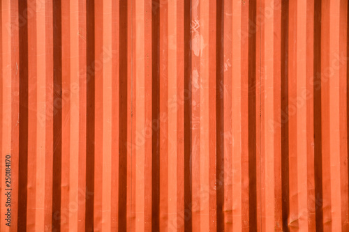 Photo Surface orange container warehouse texture