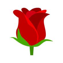 Rose Emoji Vector