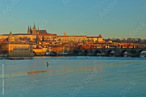 Fotografie, Obraz  Prag am Morgen