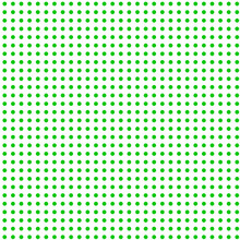 The Green Dots  On White Background