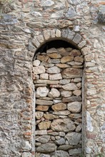 Ancient Stone And Old Wall Wit...