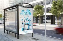 Bus Stop Music Festival Billboard