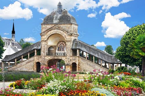 Fotografie, Obraz  Sainte-Anne-D'Auray  Façade de la Scala Sancta du sanctuaire