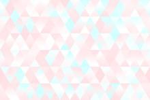 Pastel Millennial Pink Blue Wh...