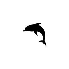 Dolphin Silhouette Symbol